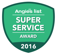 Angie's List Super Service Award 2014, 2015, 2016