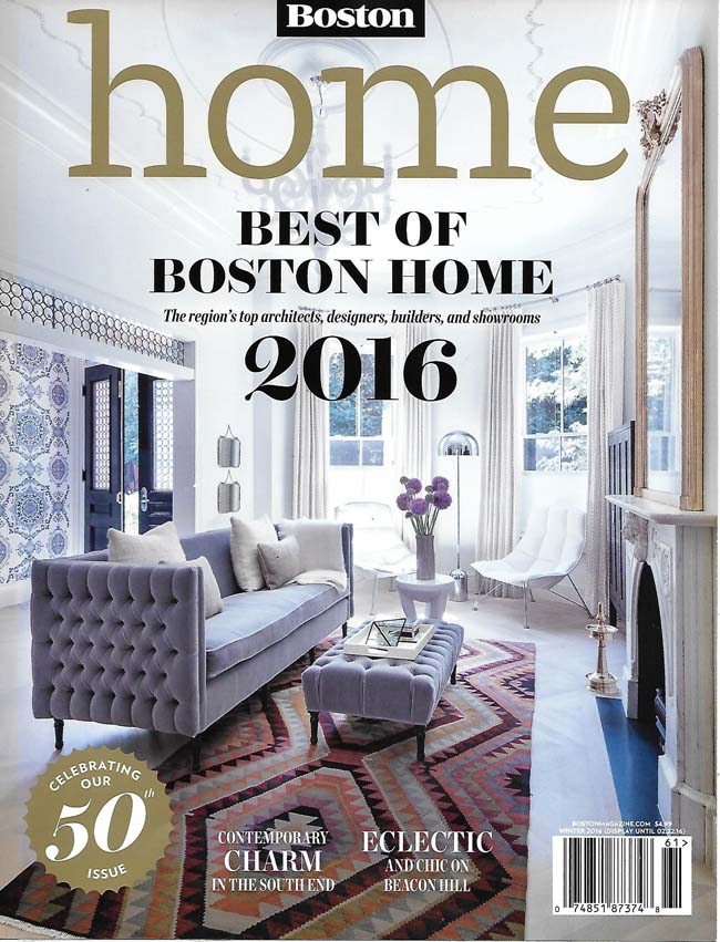 Boston Home Magazine U2013 Winter 2016